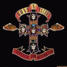Guns N' Roses: Appetite For Destruction. 100% kick ass!