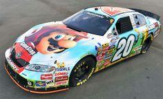 Joey Logano former Super Mario GameStop car
