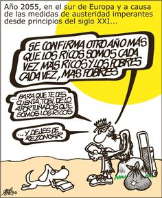 Viñeta: Forges - 2015-06-28 | Opinión | EL PAÍS Humor Grafico, Comics, Founding Fathers, Frases, Good Advice, Illustrators, June, Planets, Thanks