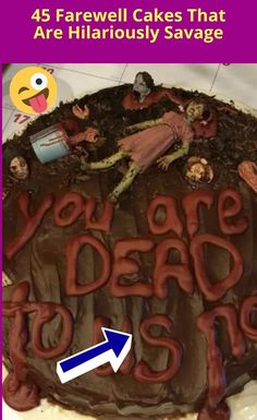 45 hilariously savage farewell cakes on coworker's last day Farewell Cake, World 2020, Hair Ponytail, Funny Pins, Savage, Sunny Days, Short Hair, Weird, Meme
