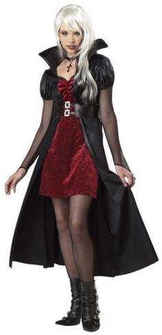 vampire Halloween Costumes for Teens