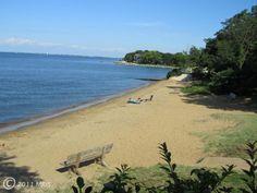 Cape St. Claire beach on the Chesapeake