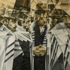 Shabbos. Cubo-futurism. Krotkov Vassily. 2014