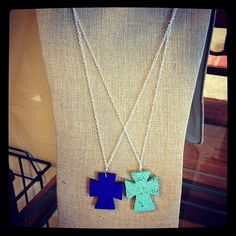 Betsy Pittard necklaces coming soon to Meg & Lily Shoe Boutique: www.facebook.com/megandlilyshoes