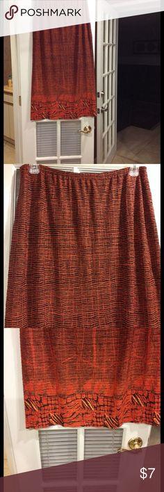 2X Rafael skirt good condition 2X Rafael skirt elastic waistband good condition Rafael Skirts Maxi