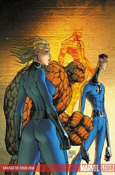 Fantastic Four by Michael Turner