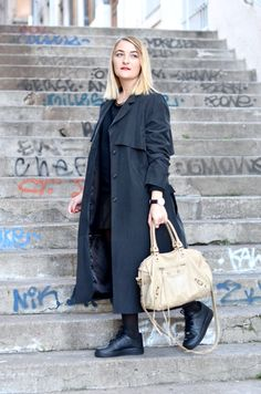 Wow! Clémentine you're looking great in our #monkistyle coat!