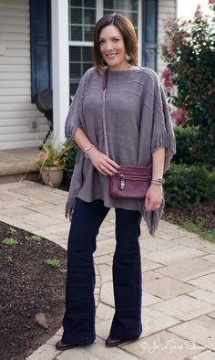 Fashion Over 40: Fringe & Flares - two hot fashion trends for fall 2015