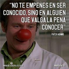Patch Adams, Wisdom Quotes, Words Quotes, Wise Words, Life Quotes, Words Can Hurt, Cool Words, Robin Williams Frases, Letter Song