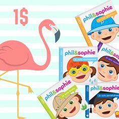 Quel beau cadeau! Des livres amusants et éducatifs à seulement 1$!!! Faites vite, les quantités sont limités!
