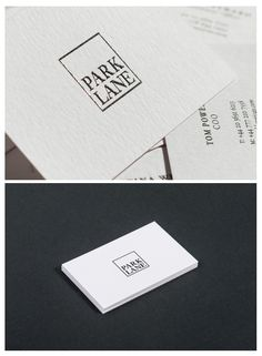 For the Hedge Fund Park Lane we developed the Branding. Beautifully realized by Verena Panholzer.