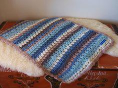 Lykketrollet: Eskimo babyteppe Blankets, Pillows, Crochet, Crocheting, Cushion, Chrochet, Carpet, Cushions, Blanket