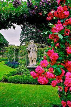 Houghton Hall Gardens, Norfolk, England