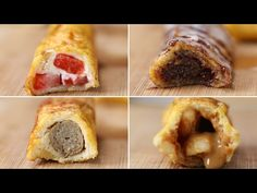 French Toast Roll-Ups 4 Ways - YouTube