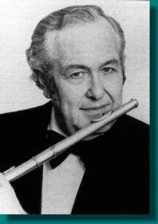 Julius Baker, famous flutist and flute teacher