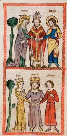 1360 Speculum humanae salvationis  12v
