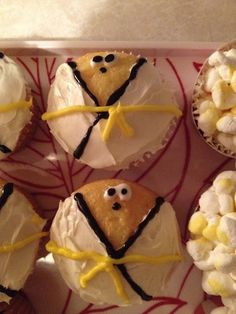 Tae Kwon Do Yellow Belt Cupcakes