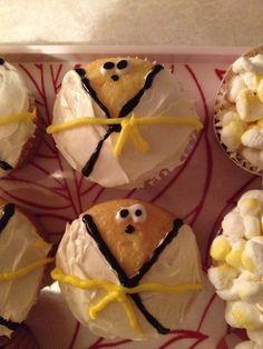 Tae Kwon Do Yellow Belt Cupcakes