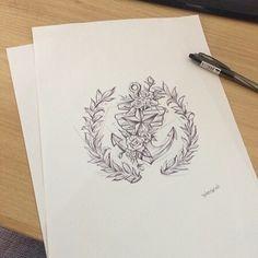 illust tattoo design (By. tattooist Wonseok)  타투이스트 원석  010 3409 0550 카톡 coi1120  http://instagram.com/tattooist_wonseok  http://facebook.com/coi1120  타투도안/월계수/국방부마크