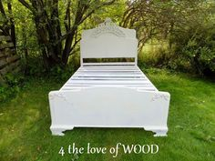 4 the love of wood: UPDATING A VINTAGE BED FRAME