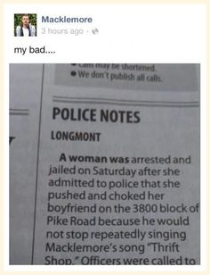 funny-Macklemore-Facebook-post-newspaper-crime