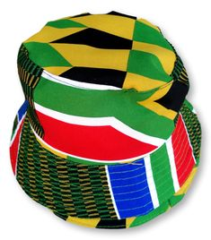 South African Flag Reversible Bucket Hat Size : 35 cm x 21 cm Weight : 50 g Washable : Yes Fabric : Cotton Hand Made South African Flag, Hat Sizes, Bucket Hat, Hats, Fabric, Cotton, Handmade, Tejido, Tela