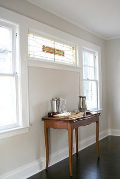 Sherwin williams pearly white 7009 decor ideas pinterest - Wandfarbe greige ...