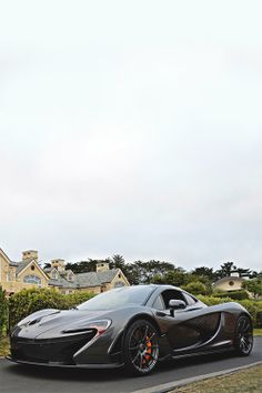 McLaren P1 out side the mansion (FTA)Alan T. Photography
