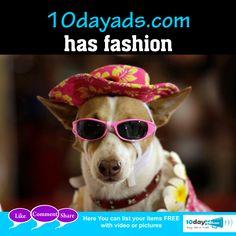10dayads.com has fashion  #Fashion #Freeclassifiedssites #Freeadvertisement #FreeadsPosting #Freebusinessadvertising