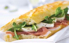 """Gourmet Sandwiches:  Gourmet means """"delicious,"""" not """"complicated!"""""""