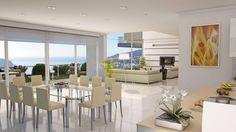 Contemporary Villa - Dining Area