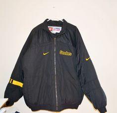 Pittsburgh Steelers Jacket Steelers Jacket NFL Nike pro line  JACKET SIZE 2 XL #Nike #PittsburghSteelers