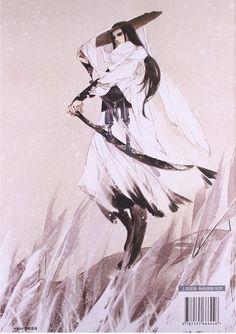 《画匣子5·古风吟》杂志封底, by Chinese illustrator Ibuki Satsuki 伊吹五月.