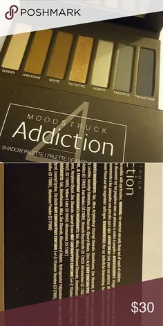 Moodstruck Addiction Shadow Palette #4 new Cool sales of copper and teal  New  never been used younique Makeup Eyeshadow