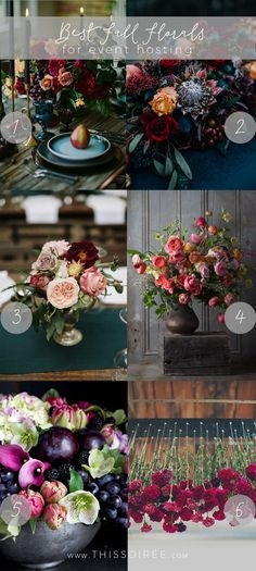 Best Fall Florals for Event Hosting