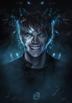 The flash season3 savitar I'm the future flash