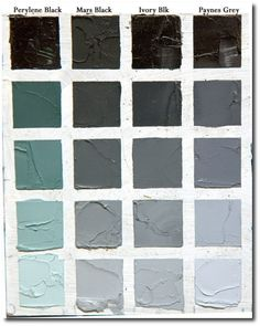 Historic Paint Colors and Palettes