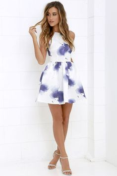 aea1e235b52 Floral print dress 50+ best outfits