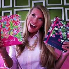 #lillyagenda via @ shannonlgross | A #lillyagenda for me, and a Lilly agenda for mom's birthday! Claire and I deserve the best daughters award GUYS THIS IS ME PLEASE GO PIN IT FOR ME!