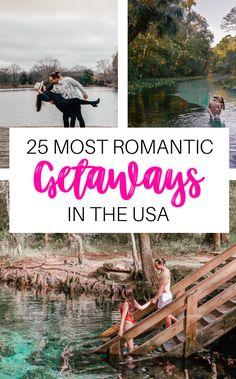 Cheap Romantic Getaways, Cheap Weekend Getaways, Weekend Getaways For Couples, Romantic Weekend Getaways, Romantic Vacations, Romantic Places, Romantic Travel, Best Vacations For Couples, Vacations In The Us