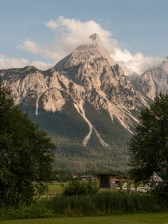 the Alps in Germany, near Garmisch-Partenkirchen