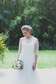Vestidos de noiva com manga comprida - Inspire Brides