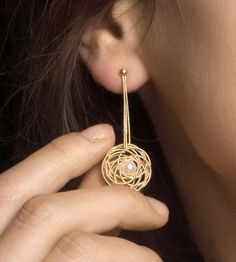 Nido Earrings¦ Sardinian Jewellery