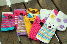 Kännykkäpusseja, For mobile phones :) Me piipertäjät Mobile Phones, Blanket, Crochet, Ganchillo, Blankets, Cover, Crocheting, Comforters, Knits