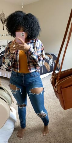 Baddie Outfits Casual, Cute Swag Outfits, Chill Outfits, Trendy Outfits, Thick Girls Outfits, Black Girl Fashion, Teen Fashion Outfits, Everyday Outfits, Streetwear Fashion