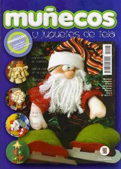 Revista de muñecos y juguetes en tela gratis