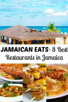 Jamaican Eats 8 Best Restaurants in Jamaica! Travel Tourism Vacation Jamaica food Caribbean tropics beaches and Red Stripe Beer. Jamaica Food, Visit Jamaica, Jamaica Vacation, Jamaica Travel, Jamaica Honeymoon, Beach Travel, Jamaica Island, Vacation Places, Italy Vacation