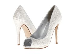 Touch Ups - Tease  Price: $47  Sparkle and shine in these breathtaking pumps. Glitter-covered man-made upper. Open toe. Man-made lining. Man-made sole. Imported. Measurements: Heel Height: 4 3 4 in Weight: 10 oz Platform Height: 1 2 in Product measurements were taken using size 9 width M. Please note that measurements may vary by size.