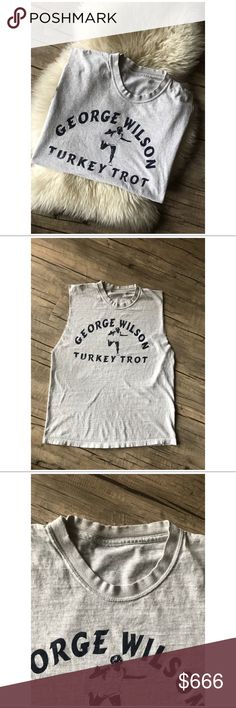 "🐰80's VTG // Turkey Trot Muscle Tee + Perfectly worn-in  + Hand altered (raw hem sleeves)  + No tagged size or brand - fits like M/L   BUST: 40""  LENTGH: 25""   ** This item is priced for quick sale - because of this I will not be accepting offers. I am real nice about bundle deals **   IF you see the bunny it is buy one get one FREE! Just add your likes to a bundle and I will offer +  #VINTAGE #GRUNGE #ALTHETIC #TEE #T-SHRIT #GRAPHIC Vintage Tops Tees - Short Sleeve"