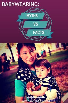 Here are the facts about some common babywearing myths!